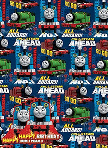 Thomas and Friends Gift Wrap