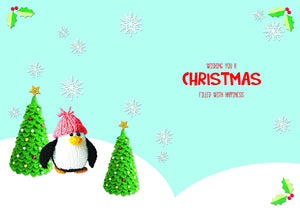 Christmas Wishes Uncle Just For You Bright Modern Cute Christmas Design K2 Classics Christmas Card