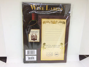 "Personalised Wine Label 2 Pack ""CHRISTINE"""