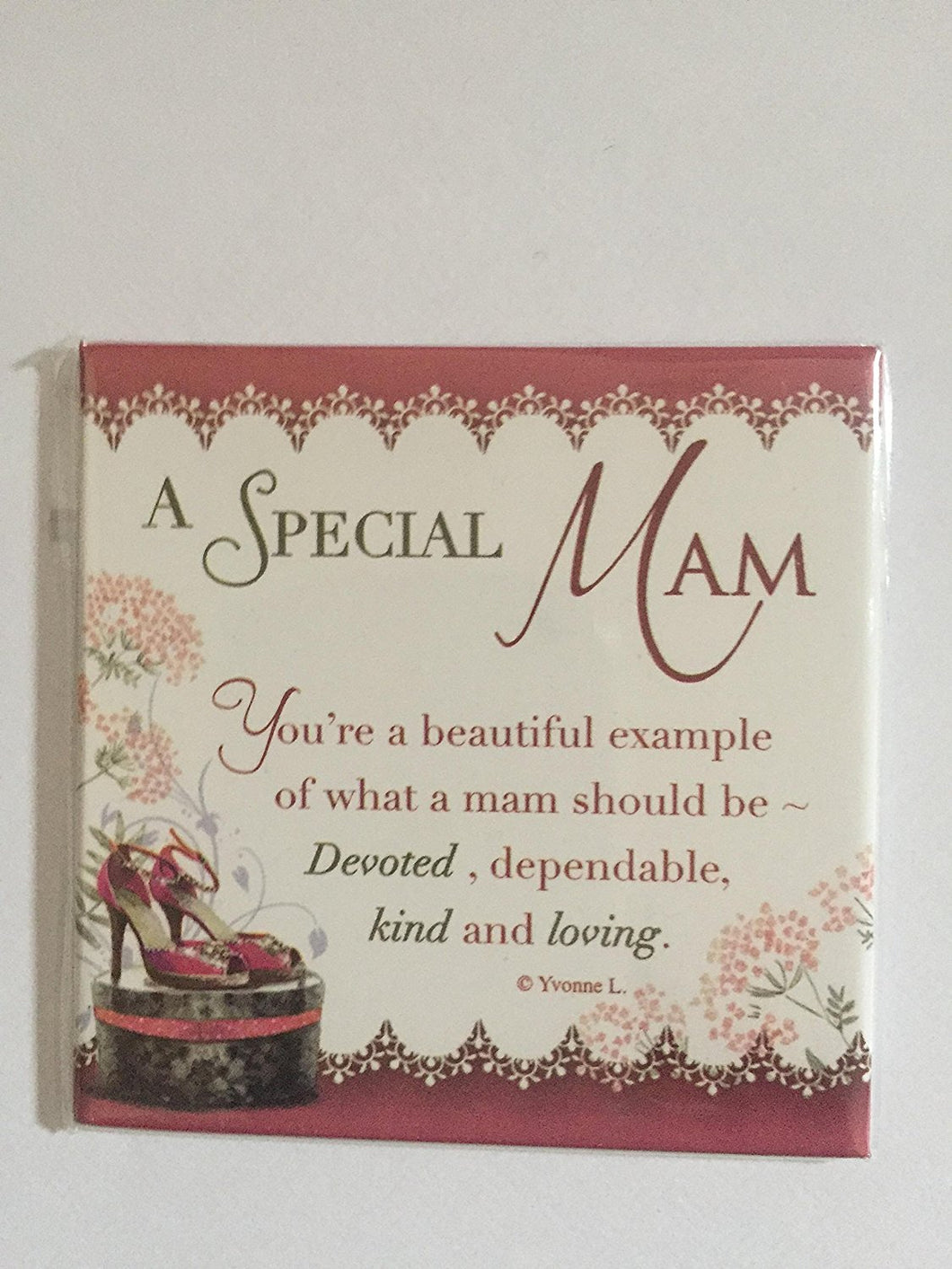 A SPECIAL MAM MAGNET WITH VERSE