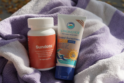No Such Thing As Too Much Sun Protection: Layering Up With Sundaily Gummies and Stream2Sea