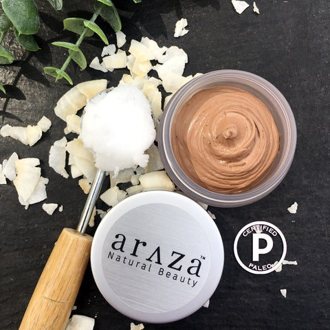 araza natural beauty coconut cream foundation