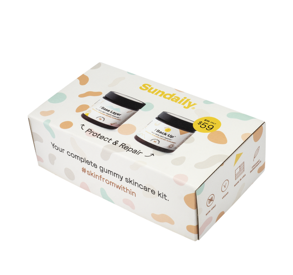 Sundaily 2019 Gift Set (1x each The Base Layer and The Back Up) by Sundaily