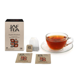 English Breakfast - Tea Bags-Tea-JAF TEA-Tea- tea,tea gifts, gourmet tea, herbal tea, black tea, green tea, ceylon teas, sri lanka, sri lanka tea, hand packed tea, fresh tea, free tea sampler, tea assortment, tea collection, organic tea, breakfast tea, iced tea, tea bag, teabag, tea bags, teabags, specialty tea, tea infusions, tea-over-ice, ice teas, ice tea - Jaf Tea USA - Jaf Tea