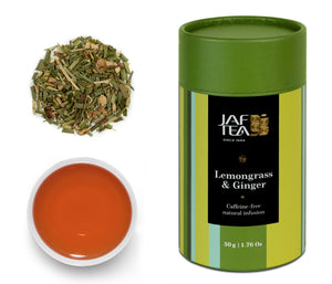 Lemongrass & Ginger Natural Infusion Collection - 50g Loose Leaf JAF TEA