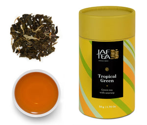 Tropical Green - Green Tea - 50g Loose Leaf JAF TEA
