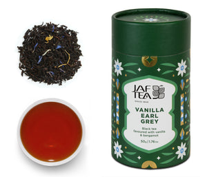 Vanilla Earl Grey - Black Tea - 50g Loose Leaf JAF TEA