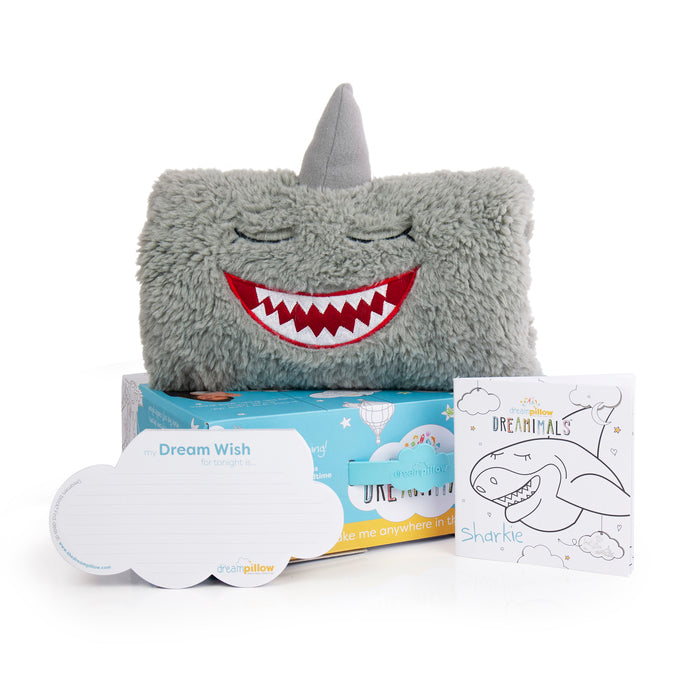 Sharkie Dreamimals - Kids Plush Shark Pillow