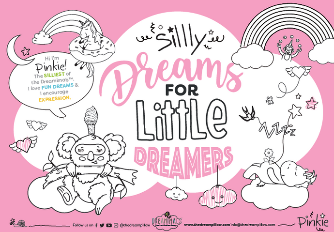FREE DOWNLOAD: PINKIE'S SILLY ACTIVITY BOOK AND COLORING PAGES
