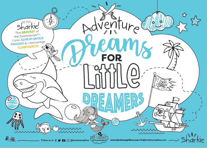 FREE DOWNLOAD: SHARKIE'S ADVENTURE ACTIVITY BOOK AND COLORING PAGES