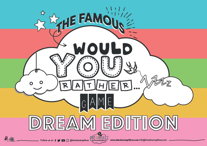 FREE DOWNLOAD: THE FAMOUS WOULD YOU RATHER GAME DREAM EDITION