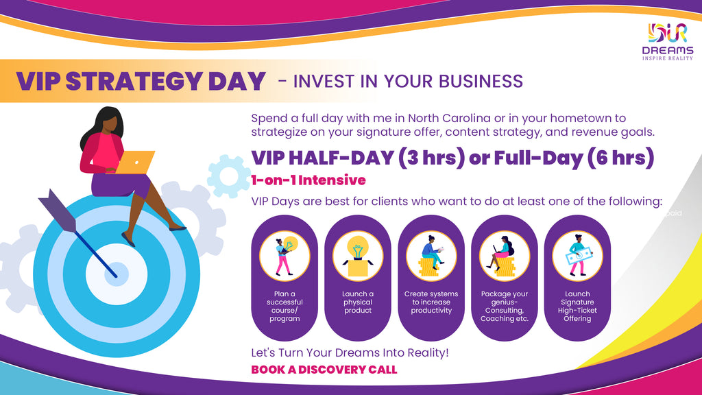 vip day to grow your business