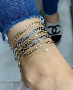 Gold Link Ankle