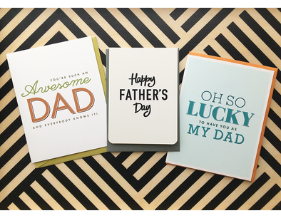 Father's Day Cards now in the shop!