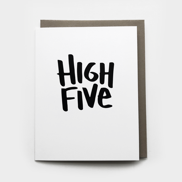 High Five Card