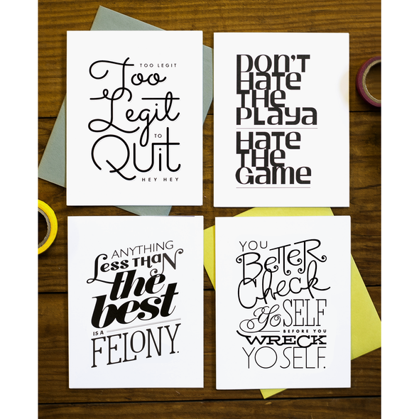 Lyrical Hip Hop 4pk Card Sampler