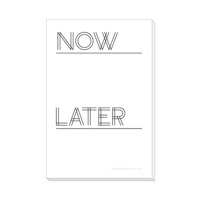 Now and Later Notepad
