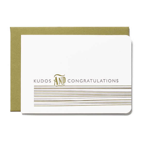 Kudos & Congratulations Card