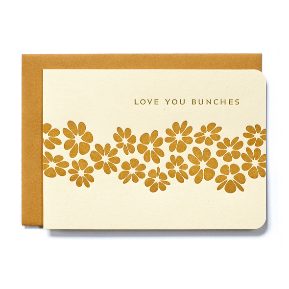 Love You Bunches Card