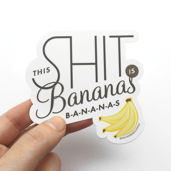 Bananas Sticker