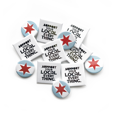 Local Love Pins