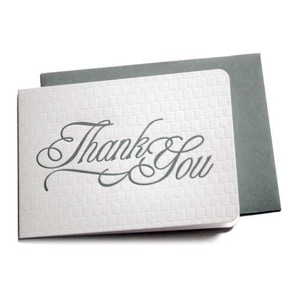 Thank You Card / You're Welcome Card