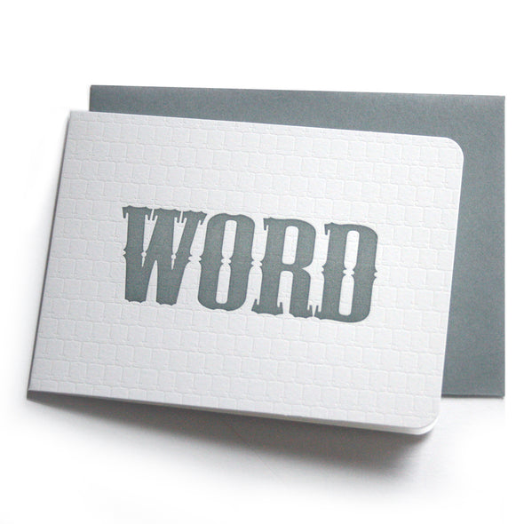 WORD Card / LATER Card