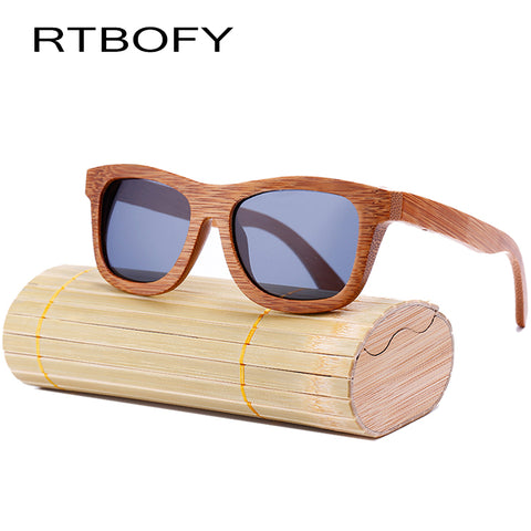 New Fashion 100% Handmade Bamboo Wood Sunglasses - HIRAM.ONLINE
