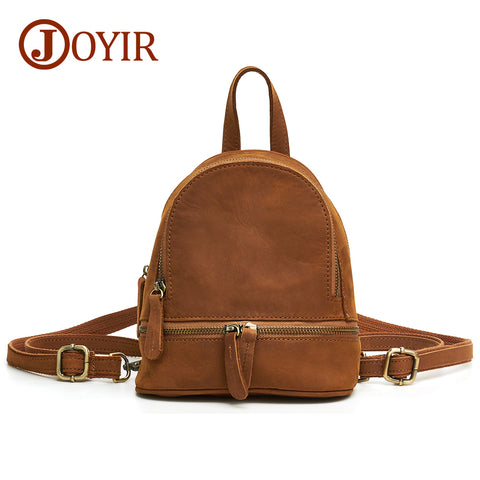 Woman Backpack School Bags For Girls Genuine Leather Bag - HIRAM.ONLINE