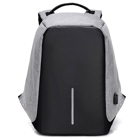 Anti-theft Backpack USB Charging Men Laptop Backpacks For Teenagers - HIRAM.ONLINE