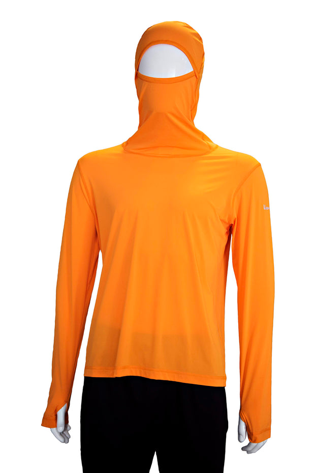 Orange Safety Sun Shirt