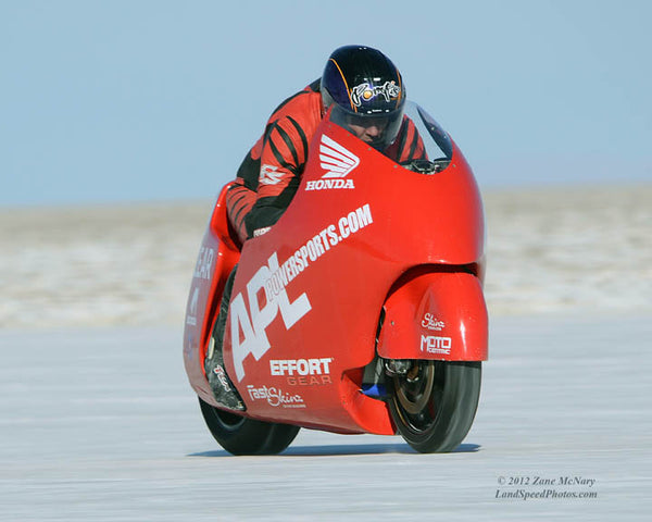 Al Lamb Bonneville LSR Bike - 2012