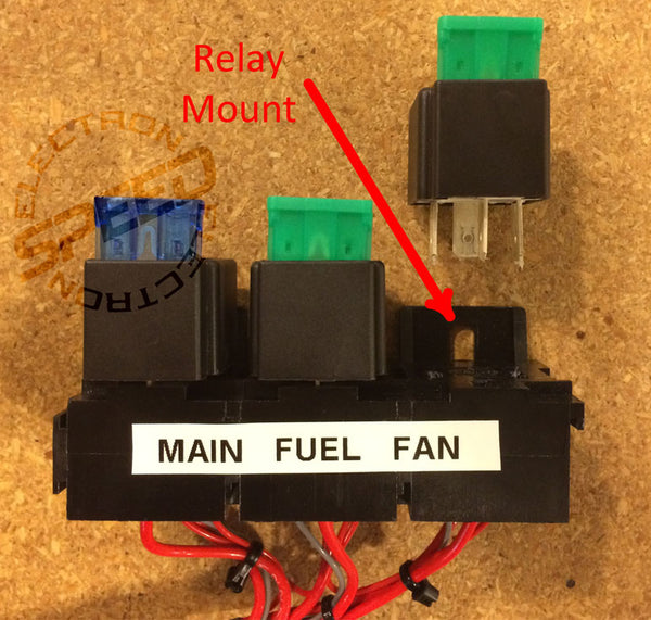 Elan Nasa Prototype NP01 Relay Mounts