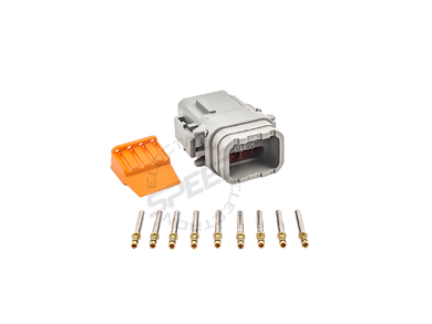 DEUTSCH DTM Series connector, DTM06-08S, Cavities: 8, Contact Size: 20, Current Rating: 7.5
