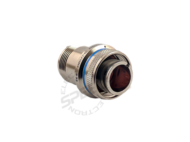 mils-spec connectors, ms3456l14s-6p, traditional mate for racing fuel cells.