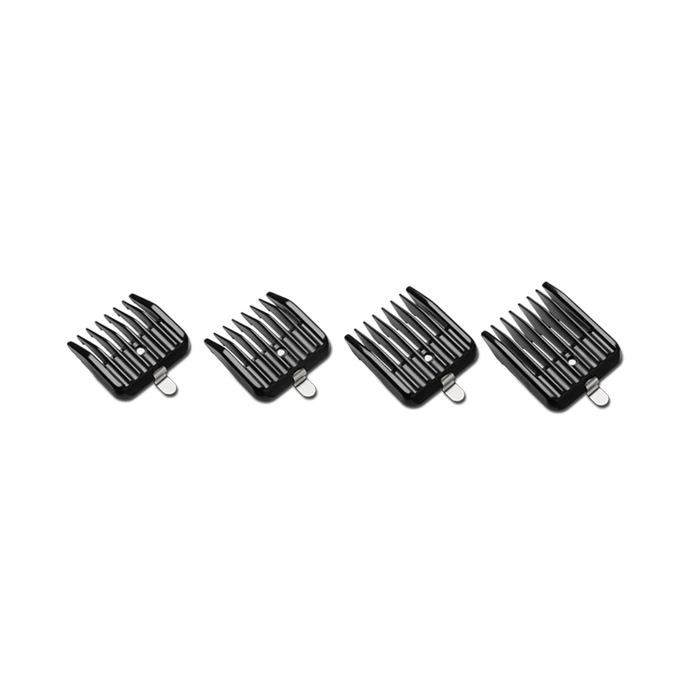 ANDIS Snap-On Blade Attachment Combs 4-Comb Set - TBBS