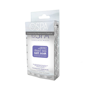 BCL SPA Lavender & Mint 4pc Pedi Box