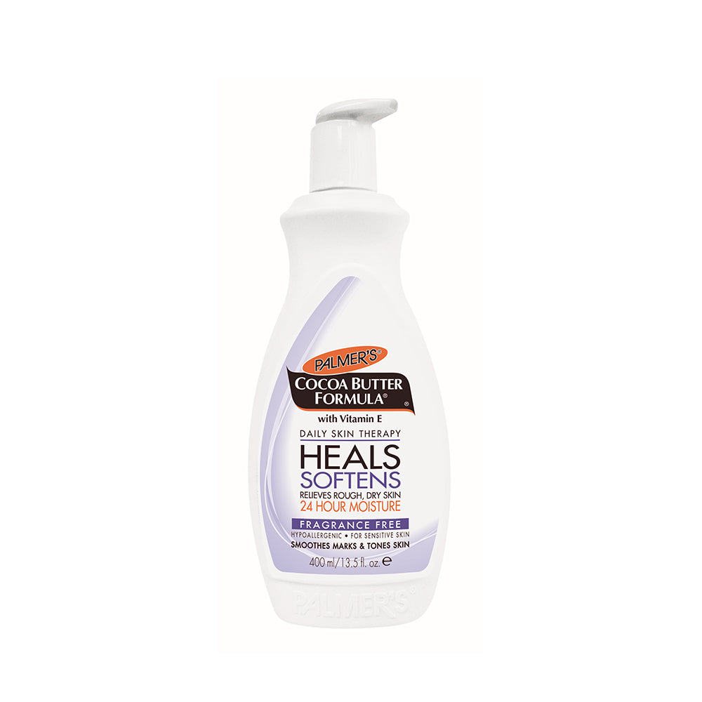 PALMER'S Cocoa Butter Fragrance Free Lotion (400ml) - TBBS