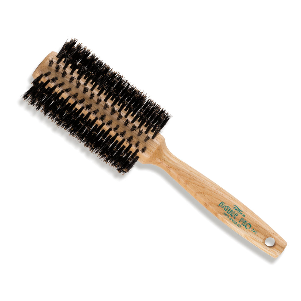 DANNYCO Natural Boar Bristle Brush 65mm