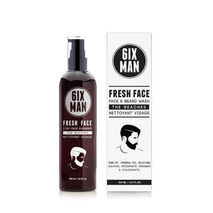 6IXMAN Face/Beard Wash 100mL - TBBS
