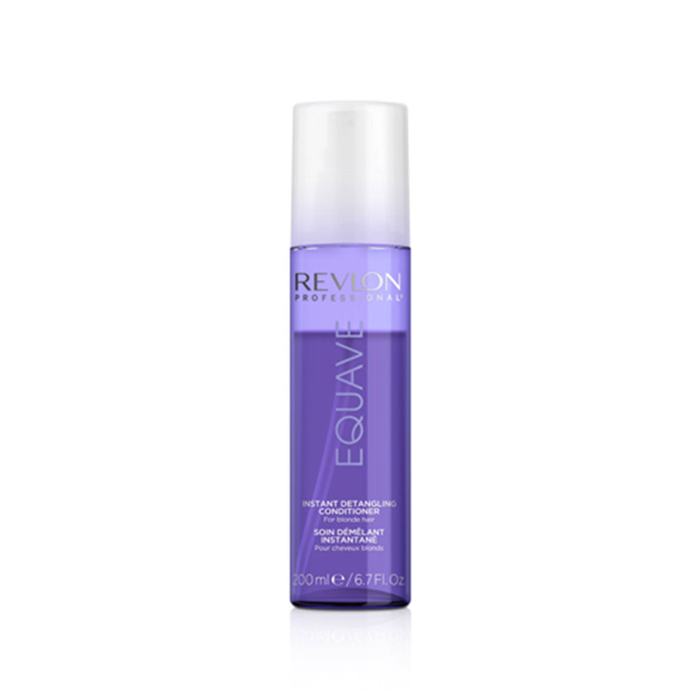 REVLON Equave Instant Leave In Detangling Conditioner For Blonde, Bleached, Highlighted Or Gray Hair (200mL) - TBBS