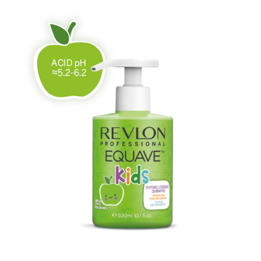 REVLON Equaves Kids Apple Shampoo (300mL) - TBBS