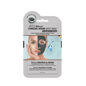 SATIN SMOOTH Charcoal Facial Sheet Mask