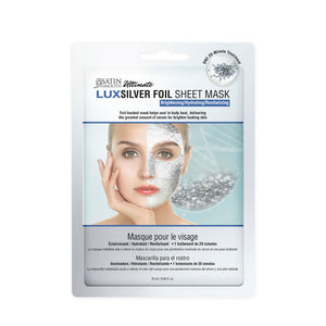 SATIN SMOOTH LuxSilver Facial Sheet Mask