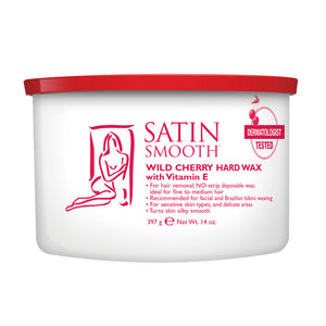 SATIN SMOOTH Wild Cherry Hard Wax (14oz)