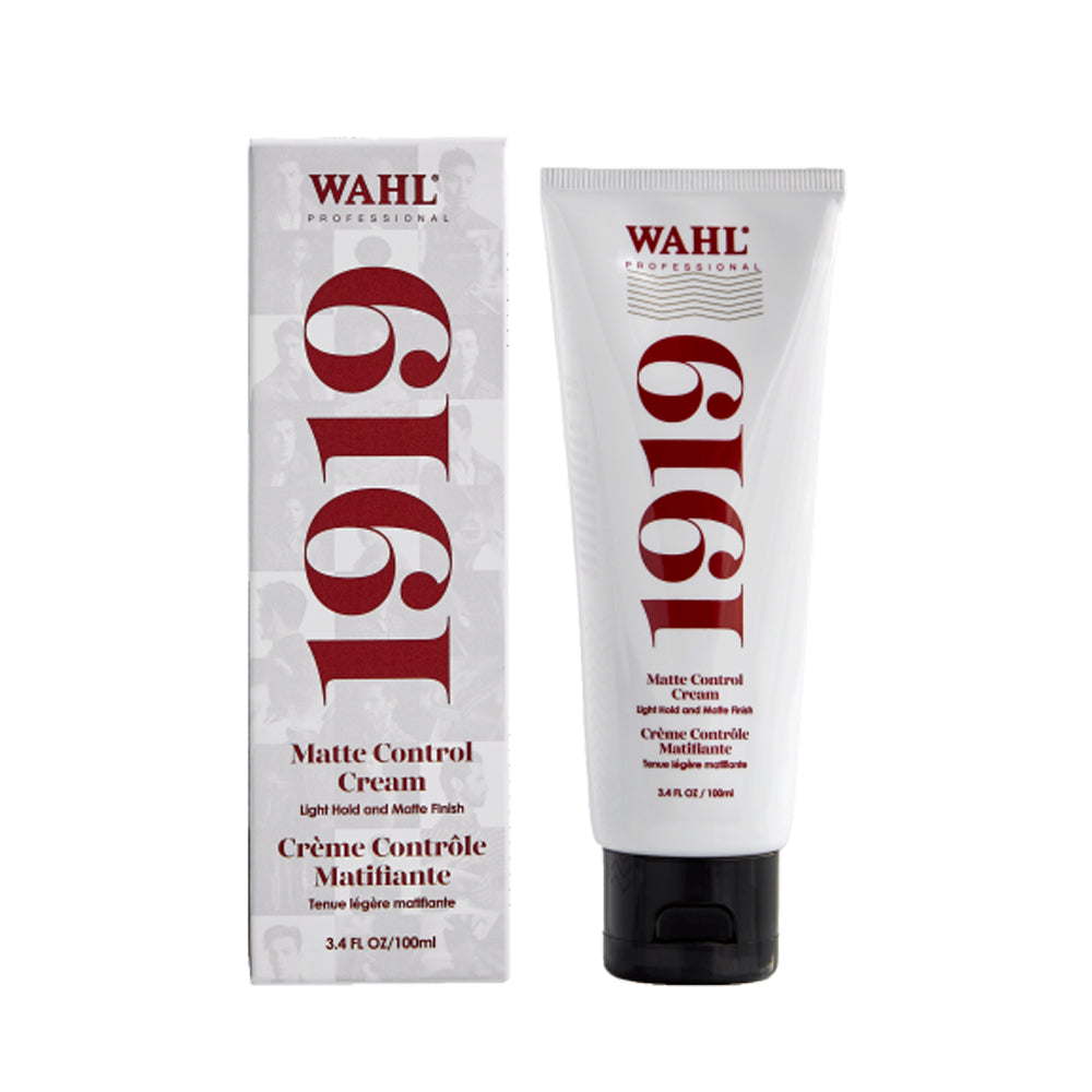 WAHL 1919 Matte Control Cream (100mL) - TBBS