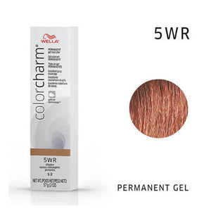 WELLA Color Charm Permanent Gel Color Allspice 5WR