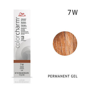 WELLA Color Charm Permanent Gel Color Caramel 7W
