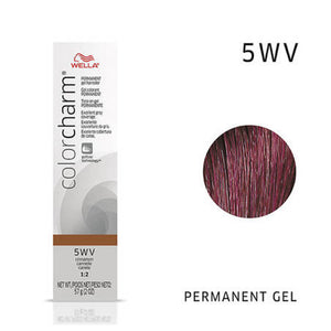 WELLA Color Charm Permanent Gel Color Cinnamon 5WV