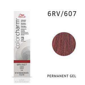 WELLA Color Charm Permanent Gel Color Cyclamen 607